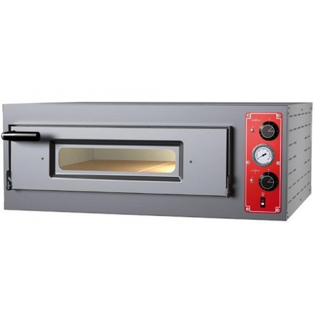 Four électrique 1 chambre 6 x ø 30/34 cm - modèle Entry Max M6L - Pizza Group