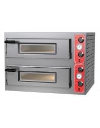 Four à pizzas électrique chambre double 4 x ø 30/34 cm - modèle Entry Max M8 - Pizza Group