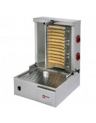 Gyros grill électrique - capacité 20 kg - broche 400 mm - DIAMOND