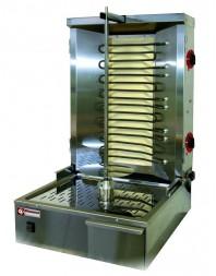 Gyros grill électrique - capacité 35 kg - broche 600 mm - DIAMOND