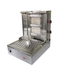 Gyros grill gaz - capacité 20 kg - broche 400 mm - DIAMOND