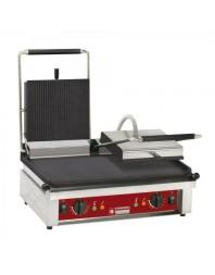 Contact-Grill électrique avec plaques émaillées - version double plaque