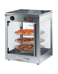 Vitrine chauffante rotative pour pizzas - Ø 42 cm - DIAMOND