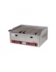 Grill gaz - Pierre de lave - 660 x 530 mm - DIAMOND