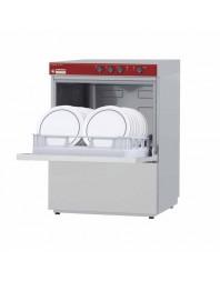 Lave-vaisselle active wash frontal double parois avec pompe de vidange - 500 x 500 mm - Monophasé -DIAMOND