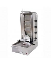 Machine à kebab avec thermostat - gaz - 4 brûleurs - ARCHWAY