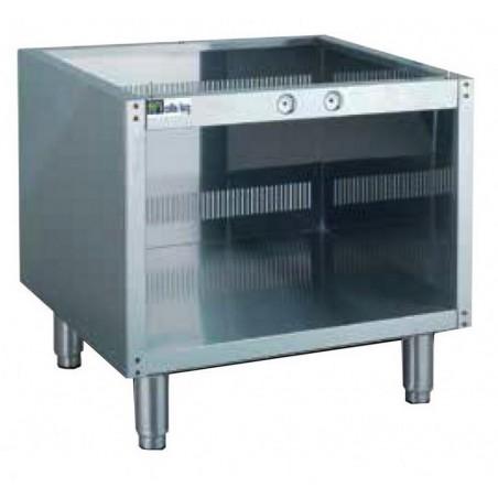 Support avec pieds modèle JUS-600 qui s'adaptera aux cuiseurs à pâtes gaz ou électrique de dimensions 60