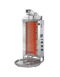 Machine à kebab- électrique - Capacité 50 kilos -avec cuve octogonale 500 x 500 mm- POTIS