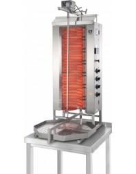Machine à kebab- électrique - Capacité 80 kilos -avec cuve octogonale 550 x 550 mm- POTIS