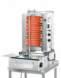 Machine à kebab- électrique - Capacité 30 kilos -avec cuve rectangulaire - 500 x 350 mm- POTIS