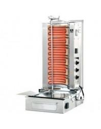 Machine à kebab- électrique - Capacité 50 kilos -avec cuve rectangulaire - 500 x 350 mm- POTIS