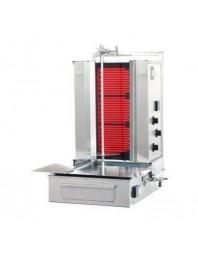 Machine à kebab- électrique - 3 zones - Capacité 30 kilos -avec cuve octogonale moteur au-dessous - POTIS