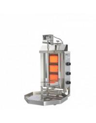 Machine à kebab- gaz - 3 zones - Capacité 15 kilos - POTIS