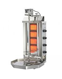 Machine à kebab- gaz - 4 zones - Capacité 30 kilos - POTIS