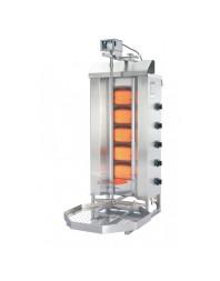Machine à kebab- gaz - 5 zones - Capacité 50 kilos - POTIS
