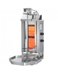 Machine à kebab- gaz - 2 zones - Capacité 30 kilos - POTIS