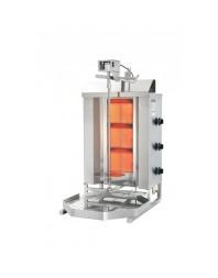 Machine à kebab- gaz - 3 zones - Capacité 40 kilos - POTIS