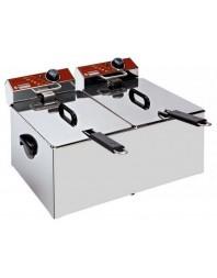 Friteuse de table professionnelle 2 x 7L électrique - EF72-N - DIAMOND