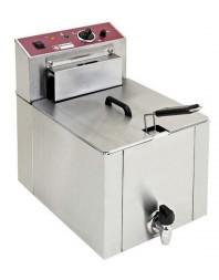 Friteuse de table électrique S-POWER 12 litres + robinet