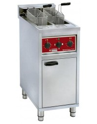 Friteuse professionnelle électrique sur coffre -2 x 10 litres - DIAMOND