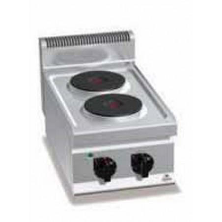 2 Plaques de cuisson professionnelles de la marque AFI électriques modèle E6P2B