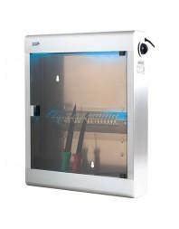 Armoire de stérilisation avec support couteaux panier- L2G