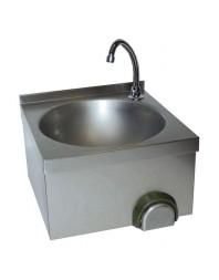 Lave-mains inox cuve ronde - LG