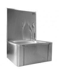 Lave-mains inox à commande fémorale - L2G