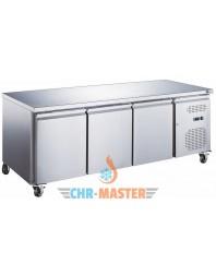 Table Réfrigérée centrale 3 portes Positive - 700 - GAMME série Star GN1/1