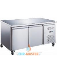 Table Réfrigérée centrale 2 portes Positive - 600 - GAMME série Star
