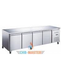 Table Réfrigérée centrale 4 portes Positive - 600 - GAMME série Star
