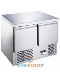 Table réfrigérée centrale positive - 2 portes -bacs GN 1/1 - AFI