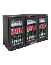 Arrière-bar 3 portes vitrées battantes - 335 litres - AFI