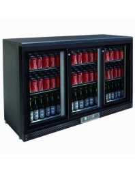 Arrière-bar 3 portes vitrées coulissantes - 335 litres - AFI