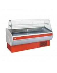 Vitrine de présentation réfrigérée - froid ventilé - 2000 mm - Vitre droite - AFI