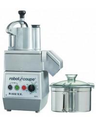 Combiné cutter et coupe-légumes - 5.5 litres - cuve inox - R 502 V.V - ROBOT COUPE
