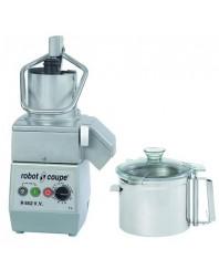 Combiné cutter et coupe-légumes - 7 litres - cuve inox - R 652 V.V - ROBOT COUPE