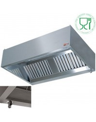 "Hotte murale ""GASTRO"" largeur 1500 mm - DIAMOND"