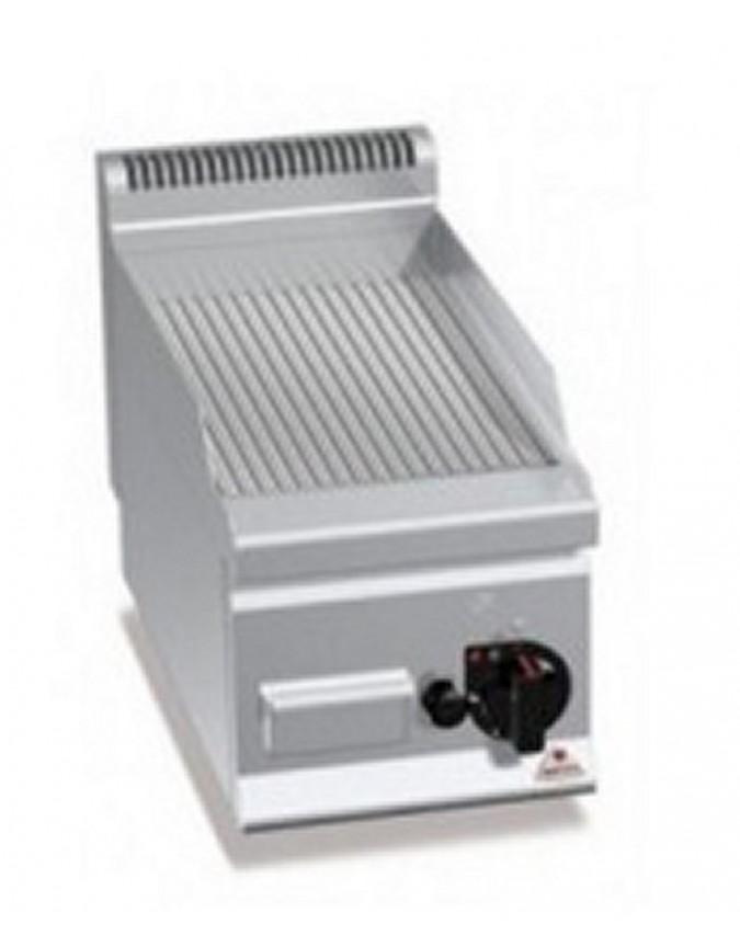 Grill professionnel afi lectrique plaque rainur e poser 2 7 kw mod le e6fr3bp chr master - Grill electrique professionnel ...
