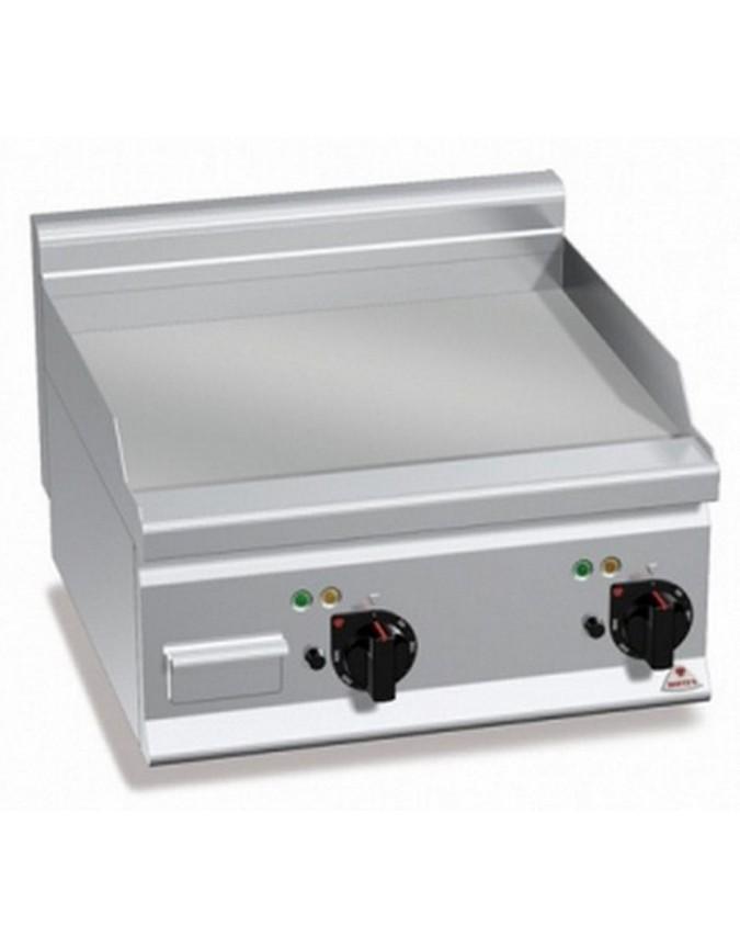 Grill professionnel afi lectrique plaque lisse poser 5 4 kw mod le e6fl6bp 2 chr master - Grill electrique professionnel ...
