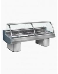 "Comptoir vitrine boucherie réfrigéré - froid ventilé +0°/+2°C - ""Buffalo"" - DIAMOND"