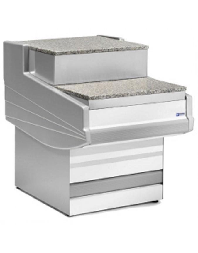 Meuble de caisse pour vitrine r frig r e vitre bomb e l gance plus diamond chr master - Meuble pour caisse enregistreuse ...