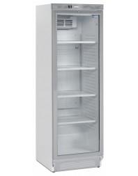 Armoire à boisson +2°+12°C - 380 L - Diamond - Laqué Acier Blanc