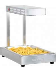 Chauffe-frites professionnel acier inox GN 1/1