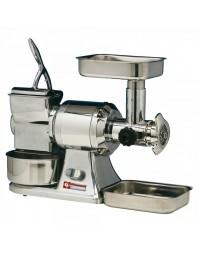 Hachoir à viande n°22 (200 kg/h) et râpe à parmesan (50 kg/h)
