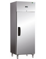 Armoire Réfrigérée Ext Inox/ Int Aluminium - 1 Porte Positive - GN2/1 - AFI