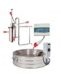 Ensemble à churros - friteuse électrique cuve 17 litres + doseur 2 kg - MASAMAR