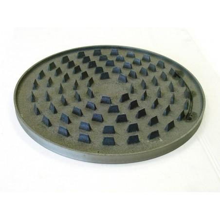 Plaque fonte pour crêpières gaz non thermostatée diamètre 40 cm