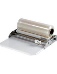 Dérouleur de film étirable - Avec plaque poly