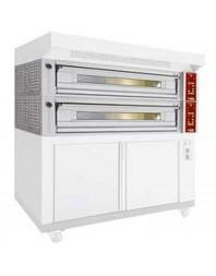 Four modulaire électrique pour boulangerie-pâtisserie - 3 plaques - capacité 3 x 600 x 400 mm